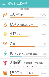 fitbit 2016/07/01