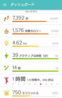 fitbit 2016/07/27